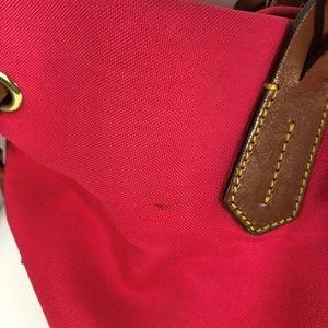 Dooney & Bourke Bags - Dooney & Bourke Shopper Fuchsia Pink Canvas Tote
